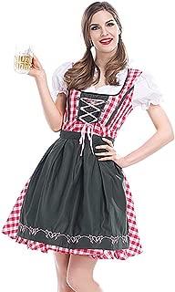 Women Oktoberfest Costume, German Dirndl Dress for Girl