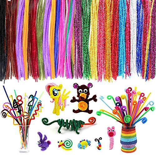 Chenille Stems 20 Colors