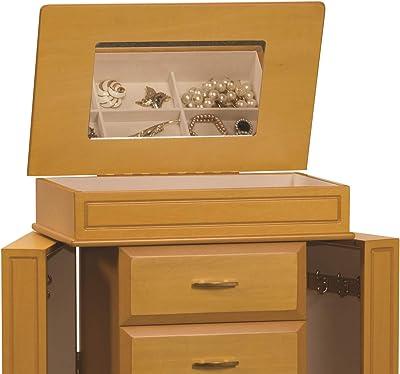 supporto per scatola in tessuto di legno copertura della scatola del tessuto in legno con intarsio in ottone colore marrone Dimensioni 10X6 pollici Grazie Giving Day o regalo di Natale