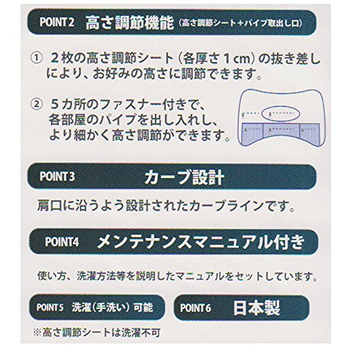 西川『京都西川ドクタースリープまくらグランドモデル(06-DS3930)』