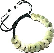 Karatgem Jewelry Multi-Style Genuine Jadeite Jade Adjustable Rope String Bracelet Bangle Beads