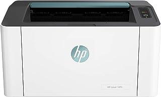 HP Laser 107r - Impresora láser Monocromo ultracompacta (20 ppm, 1200 x 1200 PPP, Capacidad de alimentación de 150 Hojas, ...