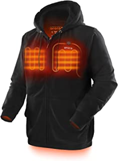 ORORO Heated Hoodie with Battery Pack (Unisex)