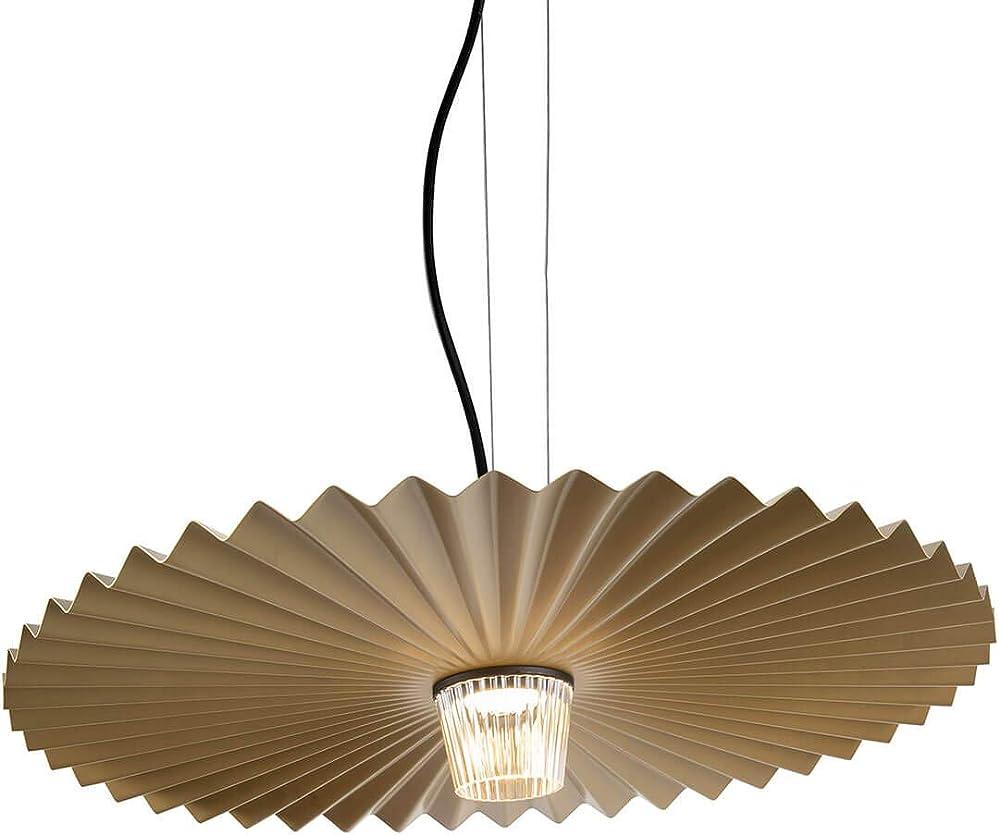 karman gonzaga lampada led a sospensione dimmerabile Ø59 cm in ottone se185ccext