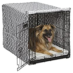 Midwest Homes Dog Crate and cover
