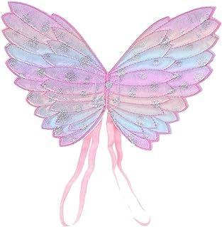 Amosfun Ali di farfalla per bambini, da principessa, da principessa, per bambini, per Halloween, feste, feste di compleanno