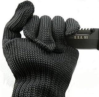 COM-SHOT 【 ナイフ も 掴める 】 防刃 手袋 切れない グローブ 【 左右 セット 】 安心 安全 高強度 ポリエチレン 繊維 MI-KIRETEBU