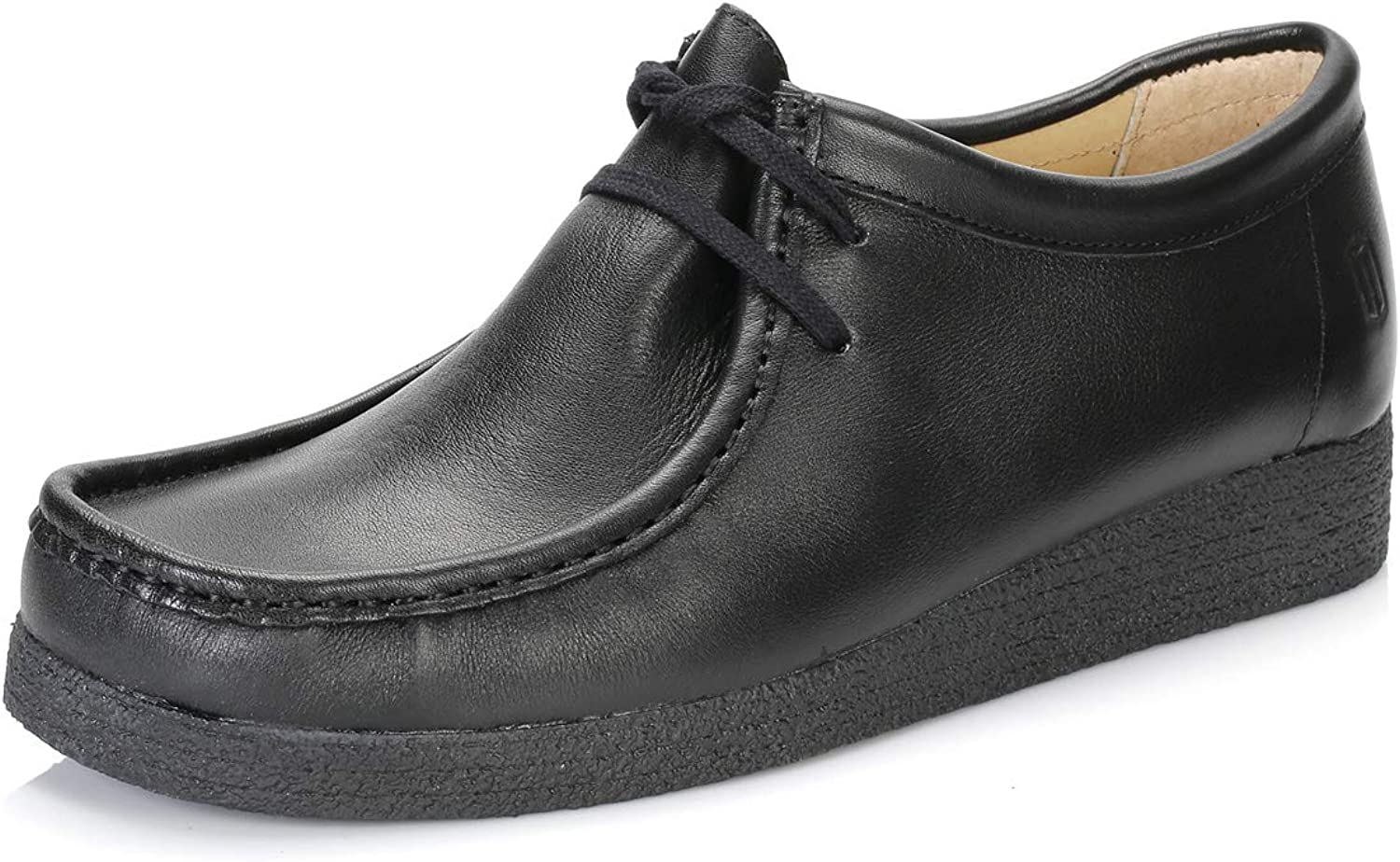 Tower London Black Nappa Leather shoes