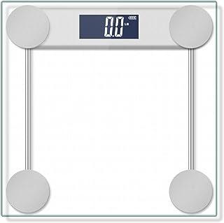 مقیاس حمام با وزن 400 کیلوگرم / 180 کیلوگرم وزن بدن با فناوری گام به گام و بستر توازن شیشه ای زاویه ای راست زاویه دار