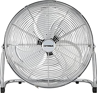 Optimus F-4122 Industrial Grade High Velocity Fan Chrome Grill, 12