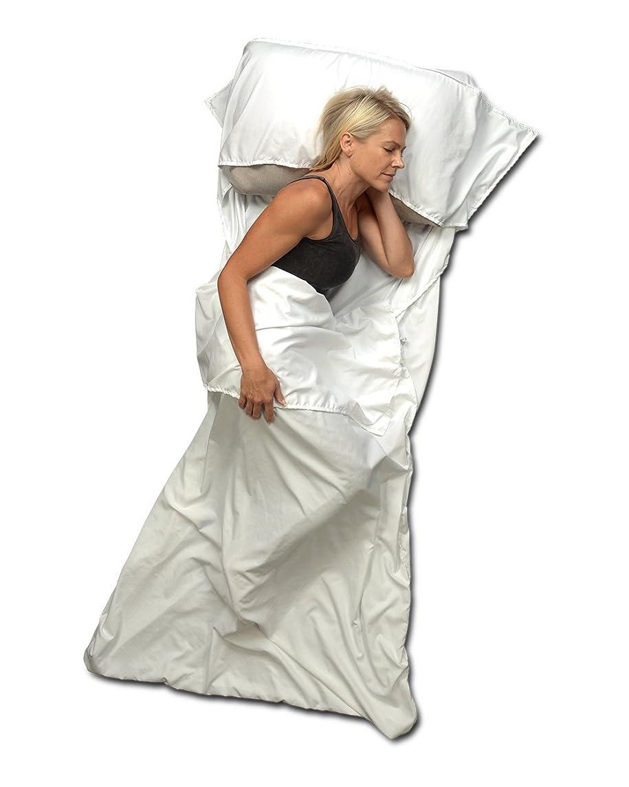Travel Sheet and Sleeping Bag Liner Use as a Lightweight Sleep Sack