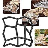 Pavimentar el molde del pavimento, cemento el molde concreto DIY del pavimento elegante para el césped