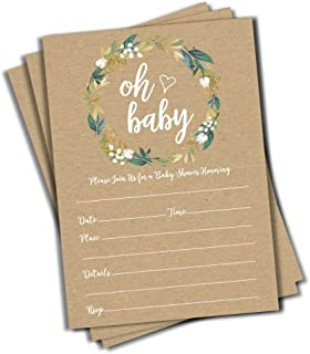 Best rustic baby shower invite Reviews