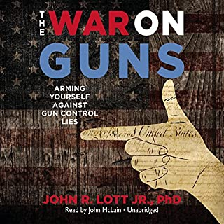 The War on Guns audiobook cover art