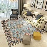 A-Generic Alfombra marroquí Vintage, Alfombra para Sala de Estar, hogar, Dormitorio, sofá, Mesa de café, Alfombra para el Suelo, Alfombra para Sala de Estudio-3_Los 80x120cm