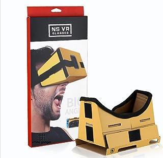 SWITCH VR KIT VRゴーグル 3Dメガネ 簡単組み立て式 固定ヘッドバンド クッション・ベルト付き Nintendo Switch ニンテンドースイッチ 対応 マリオ ゼルダ botw【white gadget】