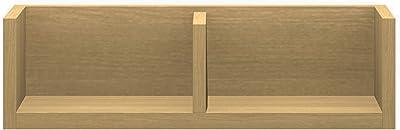 パモウナ(Pamouna) ラック 本体/バックボード:ホワイトオーク 横幅:60・奥行17・高さ17.6cm