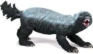 Eden Toys ラーテル 食肉目 イタチ科 動物 模型 フィギュア 大人 キッズ 孫 誕生日 プレゼント リアル フィギュア PVC おもちゃ 塗装済 完成品
