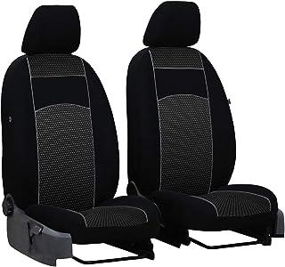 Intensiv Schwarze Sitzbezüge für TOYOTA YARIS Sitzbezug Komplett