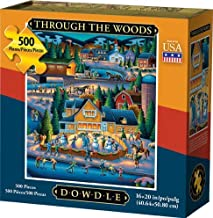 Dowdle Jigsaw Puzzle - Through The Woods - 500 Piece