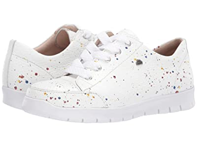 Finn Comfort Swansea (White/Speckled) Women