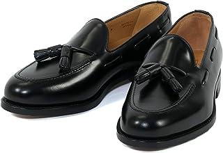 [バーウィック] タッセル ローファー 紳士靴 革靴 メンズ ブラック 8491 ダイナイトソール ROISレザー素材 グットイャー製法 スペイン製