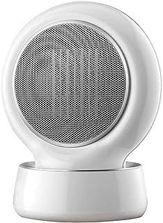 ZHHL Calentadores de ventilador, radiador de espacio doméstico pequeño de 1500 W: tecnología de calor de cerámica de PTC con 3 configuraciones de calor, protección contra sobrecalentamiento