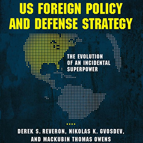 US Foreign Policy and Defense Strategy audiobook cover art