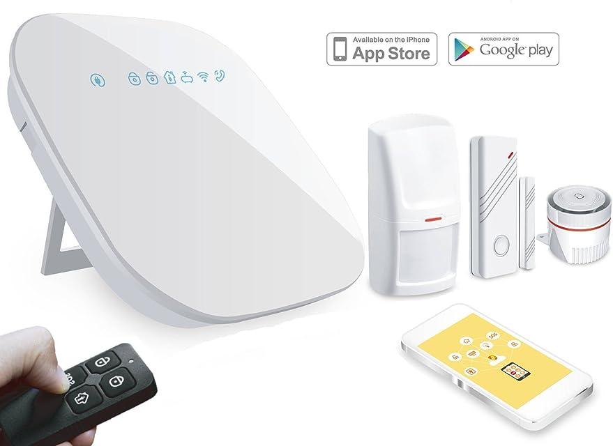 Kit Alarma WiFi + Linea Telefónica SIN CUOTAS