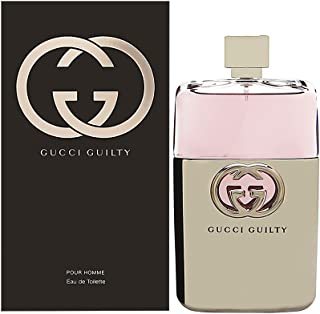 Gucci Guilty Eau De Toilette Spray for Men, 5 Fl Oz (Pack of 1)