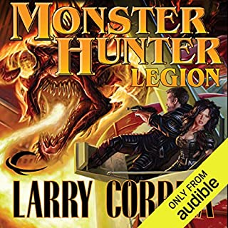 Monster Hunter Legion     Monster Hunter, Book 4              By:                                                                                                                                 Larry Correia                               Narrated by:                                                                                                                                 Oliver Wyman                      Length: 16 hrs and 59 mins     9,089 ratings     Overall 4.7