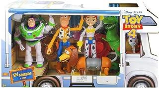 Disney Pixar Toy Story Paquete de 6 Figuras Figura de Acció
