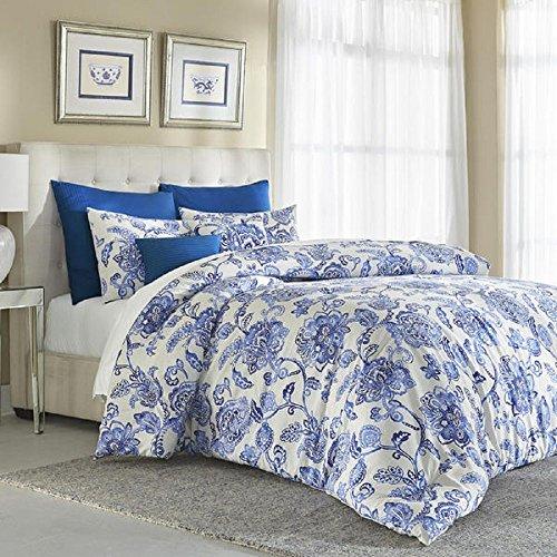 Cannon Floral Comforter Set – Blue