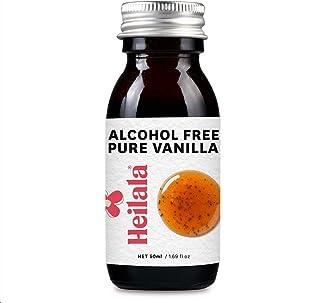 Heilala Vanilla Sin alcohol de vainilla pura - con los bienes de terciopelo Pod, sin azúcar, todo natural, 50ml (Alcohol Free Vanilla)