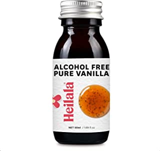 Pure Vanilla Flavor with Seeds - Alcohol Free, Award-Winning Heilala Vanilla, Perfect for Uncooked & Healthy Recipes, Hand-Picked, Ethically Sourced Vanilla Pods from Polynesia, 1.69 fl oz