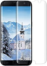 JRG Galaxy S7 Edge Tempered Glass Screen Protector Works with Almost All Phone Cases, [9H Hardness] [Anti-Scratch] [Anti-Fingerprint] [Bubble Free] [Ultra-Clear] [3D Cover] - Clear 2.1