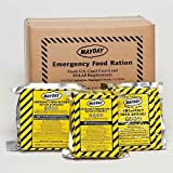 Mayday Food Bars Emergency 3600 Calorie Food Bars (20 per case) weight 39 lbs