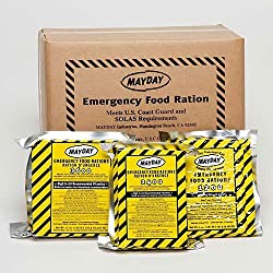Mayday Food Bars Emergency 3600 Calorie Food Bars (20 per case)...