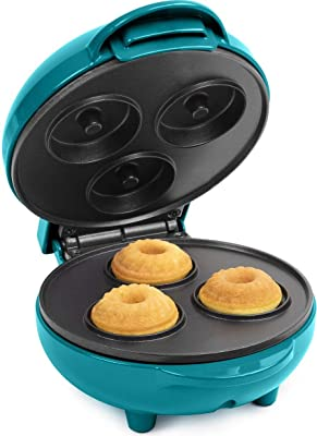 Nostalgia MyMini Lava and bundt cake maker, mini breads, mini muffins, compact size (Dark Teal)