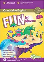 Scaricare Libri Fun for Movers Student's Book with Online Activities with Audio [Lingua inglese] PDF