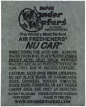 Wonder Wafers Air Fresheners 50ct. Individually Wrapped, Nu Car Fragrance