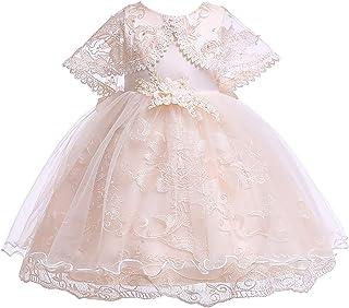 GFDGG 2019女の子のスカートのドレス女性の夏の王女のpettiskirt子供のドレス子供のドレス (色 : Champagne, サイズ : 130cm)