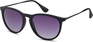 Gamma Ray Women's Polarized Sunglasses - Round Retro Mirrored Sunglasses Colors