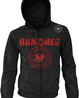 ramones zip hoodie