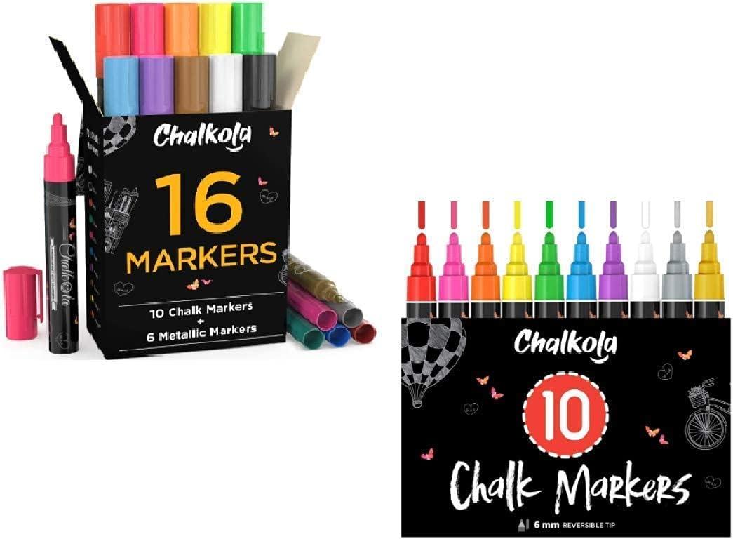 Special Chalk Super-cheap Bundle - 16 Colors 10 Bold Vibrant + Dallas Mall