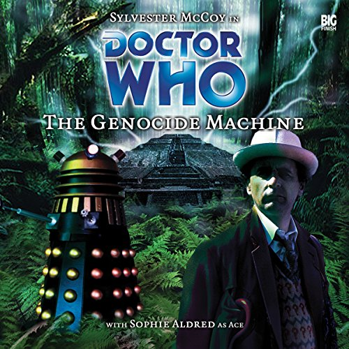 Doctor Who - The Genocide Machine audiobook cover art