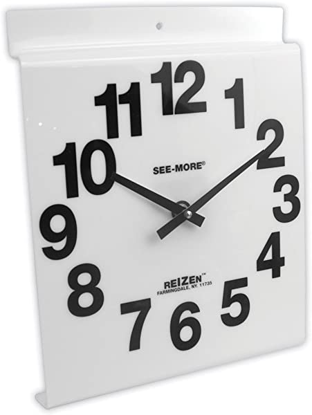 Giant View Low Vision Wall Clock White Face