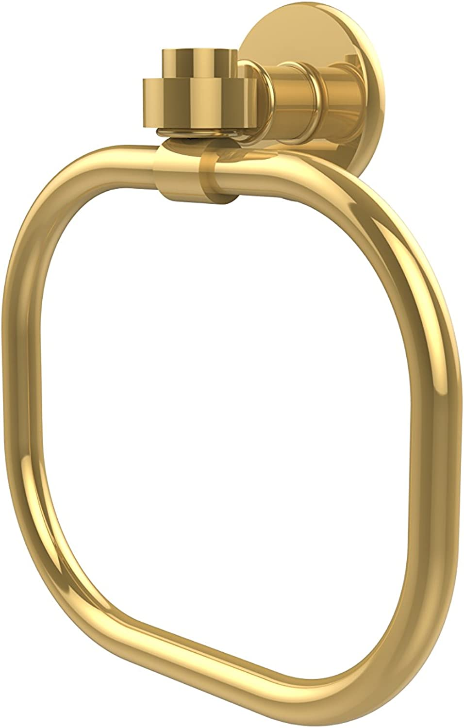 Allied Brass 2016-PB Continental Collection Towel Ring, Polished Brass