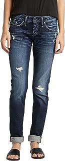 Women's Boyfriend Mid Rise Jeans