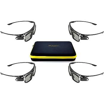Optoma ZF2100 - Gafas 3D, negro: Amazon.es: Electrónica